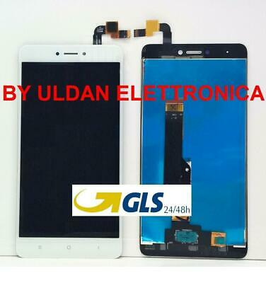 LCD DISPLAY XIAOMI REDMI NOTE 4 4X GLOBAL Per TOUCH SCREEN SCHERMO BIANCO