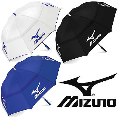 """new 2018"" Mizuno Tour Authentic 68"" Double Canopy Golf Umbrella / Brolley"