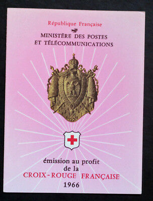 Timbre FRANCE / FRENCH stamp - Yvert Tellier Carnet Croix Rouge n°2015 (Cyn25) C