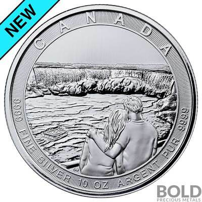 2017 Silver Canada The Great CTG Niagara Falls $50 - 10 oz