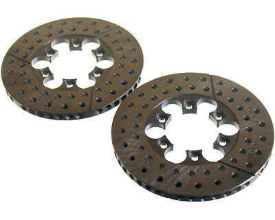 Kelgate Front Brake Disc Set 120 x 8.3 Gt4 L/H & R/H UK KART STORE