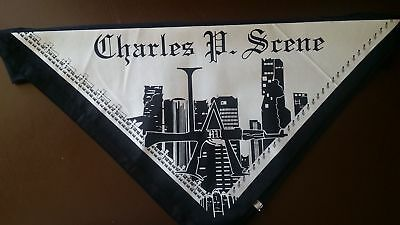 Hollywood Undead Charlie Scene Bandana (black on white)
