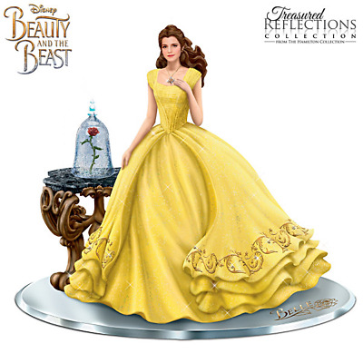 Hamilton Collection Belle From Beauty and the Beast Live Action Swarovski NEW LE