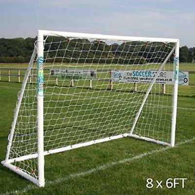 Samba Fun Series UPVC Portable Soccer Football Goal Frame Net Clips Anchors NEW