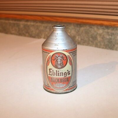 Ebling's Bock Beer IRTP Crowntainer - New York City NY
