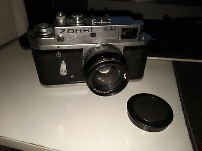 ZORKI 4K  - Rangefinder Camera with lens and case