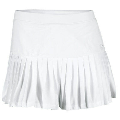 FRED PERRY - Women`s Pleated Tennis Ball Skort White - (E4785-100B)