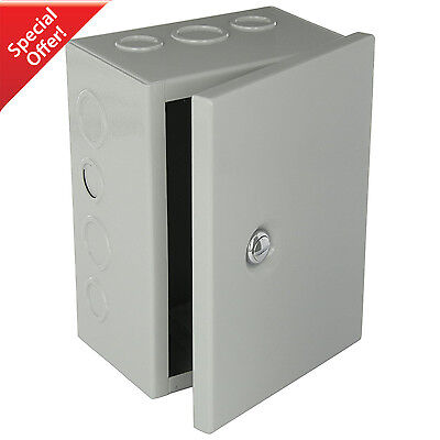 Steel Box Hinged Electrical Nema Enclosure Metal Outdoor Junction Knockout Cover
