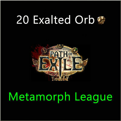Path of Exile 20 x Exalted Orb PoE Item Blight League Server NA PC 40 60 80