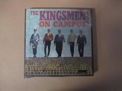 Reel-to-reel tape, The Kingsmen, On Campus, 4-track stereo, vintage US pressing