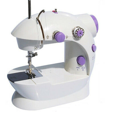 2-Speed Portable Mini Electric Desktop Sewing Machine Handheld Household sewing