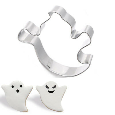 Halloween Ghost Stainless Steel Biscuit Cookie Cutter Cake Mould Baking Tools