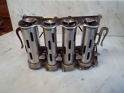McGILL HIGH SPEED 4 TUBE COIN CHANGER CHANGE MAKER WITH BELT CLIPS NR