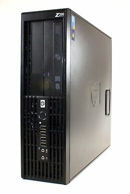 Hp Z220 Sff Workstation Pc I5-760 2.80Ghz 8Gb Ram 1Tb Hd Nvidia Gfx Win 10