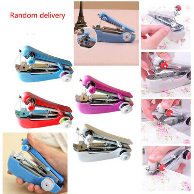 Home Travel Use Portable Multi-Functional Mini Hand-held Sewing Machine