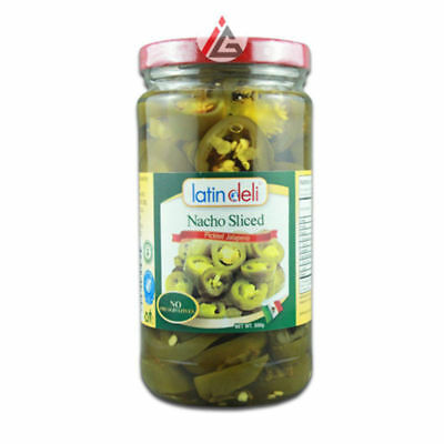 Latin Deli - Nacho Sliced (Pickled Jalapeno) - 380 gm