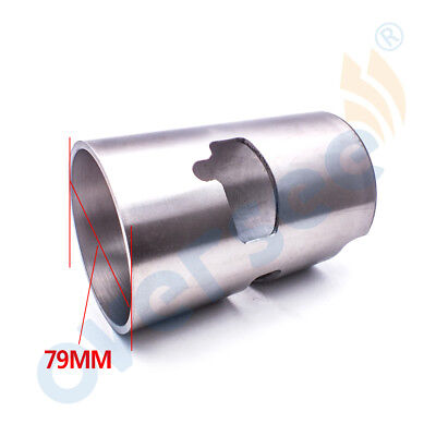 11212-94490 79mm Cylinder Liner Sleeve For SUZUKI Outboard Motor 40HP 2 Strokes