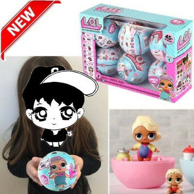 LOL Lil Outrageous 7 Layers Surprise Ball Series Doll Blind Mystery Ball Kid Toy
