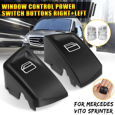 2X For Mercedes Vito Sprinter Electric Window Switch Control Buttons Right+Left
