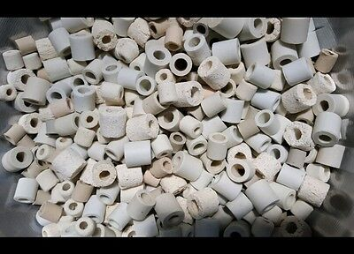 AQUARIUM CERAMIC/CLAY NOODLES (5.1kg) PICKUP OR POST AT BUYERS EXPENSE