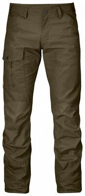 Fjällräven Nils Trousers Mens Outdoor Trousers Hiking Trousers - Dark Olive