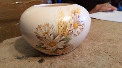 PURBECK CERAMICS VASE SWANAGE POOLE 3 Inches Hole 5 Inches Girth