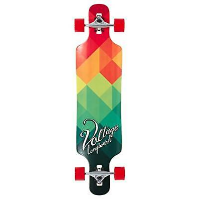 Voltage Drop Through Complete Longboard - Red/Green