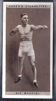 Ogdens-Pugilists In Action-#26- Boxing - Alf Mancini