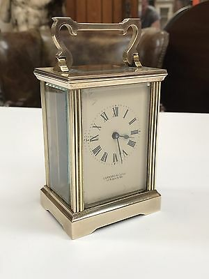 "Vary Good Quality Brass Carriage Clock By ""Garrard & Co. Open To Offers?"