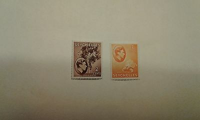 seychelles stamps 1938