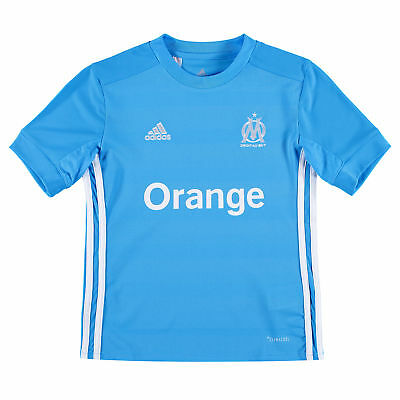 adidas Childrens Football Official Olympique de Marseille Away Shirt 2017-18 Top