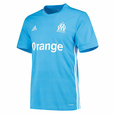 adidas Mens Football Official Olympique de Marseille Away Shirt Jersey 2017-18