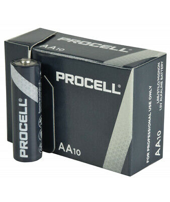 50 x Duracell Industrial AA Batteries For Professionals Alkaline LR6