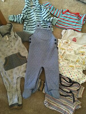 Baby Boys 9-12 Months Clothes Bundle TU/M&S