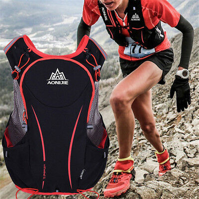 5L Outdoors Running Cycling Vest Backpack Sports Camping Hydration Bag Pack