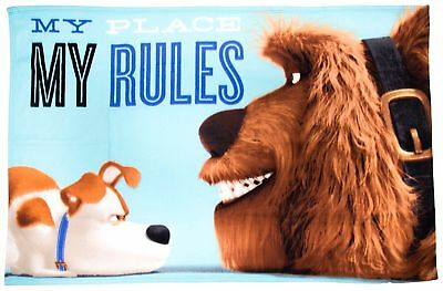 "EXTRA LARGE Secret Life Of Pets ""Animals"" Fleece Blanket Kids Boys Girls Throw"