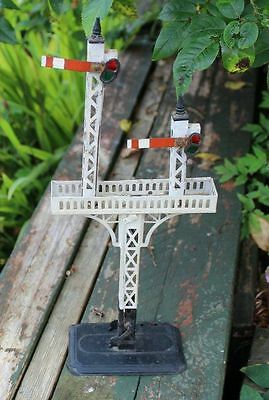 Bing Junction Double Arm Signal O Gauge Working Condition