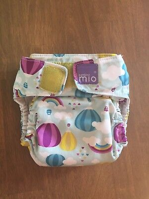 Bambino Mio miosolo all-in-one nappy WITH ORGANIC COTTON INSERT!