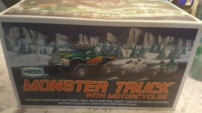 2007 Hess Truck, Monster With Motorcycles