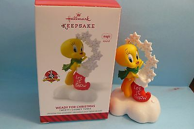 "2014 Hallmark ""WEADY FOR CHRISTMAS"" Tweety-Looney Tunes MAGIC with SOUND"