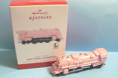 "2013 Hallmark ""2037 STEAM LOCOMOTIVE"" Lionel Trains LIMITED EDITION"