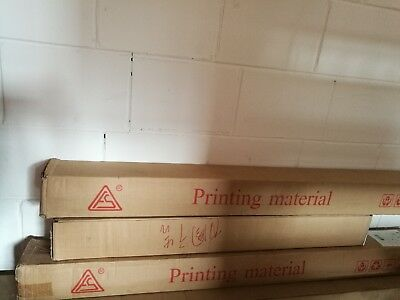 Water base printing media roll, waster base vinyl roll