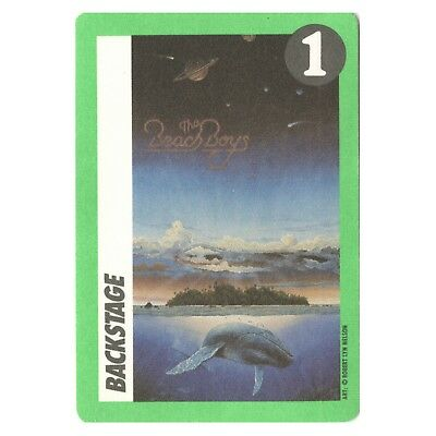 The Beach Boys authentic VIP 1992 tour Backstage Pass