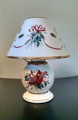 Lennox  Winter Greetings Candle Lamp