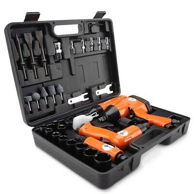 Chicago AK520 32pce Air Tool Kit Impact Wrench Ratchet Die Grinder Hammer Drill