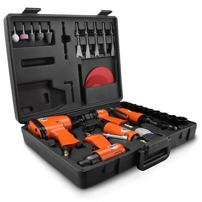 Chicago AK529 40pce Air Tool Kit Impact Wrench Ratchet Die Grinder Hammer Drill