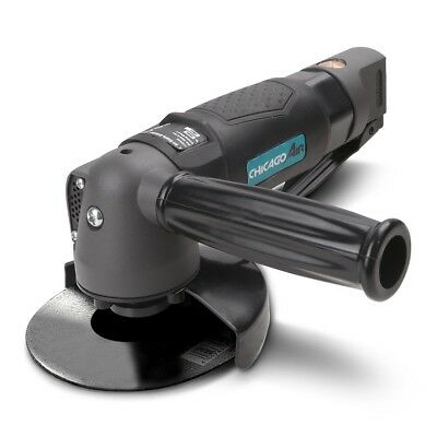 "Chicago Air CAAG4 100mm 4"" Air Angle Grinder"