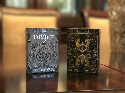 Pantheon Series - Divine 9 - Premium Playing Cards in Gold or Silver