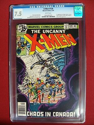 The Uncanny X-Men #120 CGC 7.5 1ST APPEARANCE OF ALPHA FLIGHT