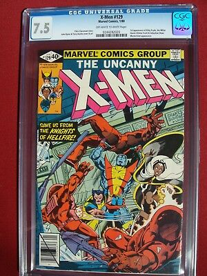 The Uncanny X-Men #129 CGC 7.5 1ST APPEARANCE OF KITTY PRYDE & EMMA FROST